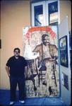 Carlos Maldonado and history exhibit
