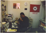 Carlos Maldonado in his office