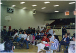 Audience at United Farm Workers meeting by Carlos Maldonado