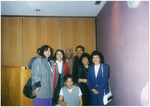Dolores Huerta and members of the Eastern Washington University faculty including Carlos Maldonado and Ruben Trejo by Carlos Maldonado