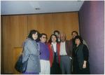 Dolores Huerta and members of the Eastern Washington University faculty including Carlos Maldonado and Ruben Trejo