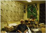 Ruben Trejo in his office