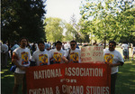 Activists at the 1997 National Association for Chicana and Chicano Studies Conference by Carlos Maldonado