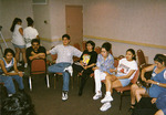 Group meeting at the 1997 National Association for Chicana and Chicano Studies Conference by Carlos Maldonado