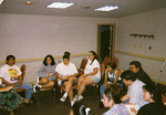 Group meeting at the 1997 National Association for Chicana and Chicano Studies Conference