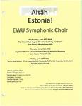 Aitah Estonia! by Eastern Washington University Symphonic Choir and Tartu Youth Choir
