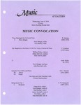 Music Convocation by Noel Jabagat, Tim Rooney, William Fisher, Jillian McCord, Jody Graves, John Marshall, Tim Gales, Cristian Garcia, Ethan Seid, and James Marshall