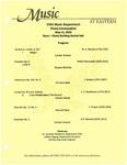 Piano Convocation by Carolyn Kreuzer, Shayara Mathias, Christian Skok, Cristian Garcia, and Rachael Ferry