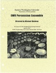 EWU Percussion Ensemble by Eastern Washington University Percussion Ensemble, Jon Williams, Gavin Davis, and Tyree Hastings