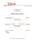 Music Convocation by Mackenzie O'Dea, Tomoko Kimura, Kelly Noelle Parks, and Riley Gray