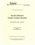 Jacob Johnson Senior Guitar Recital by Jacob Johnson