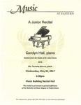 Carolyn Hall Junior Recital