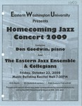 Homecoming Jazz Concert 2009 by EWU Jazz Collegians and EWU Jazz Ensemble