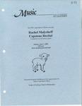 Rachel Malysheff Capstone Recital