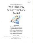 Will Thackeray Senior Trombone Recital