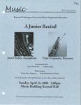Jared Bailey and Tyler Trepanier - A Junior Recital