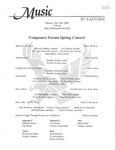 Composers Forum Spring Concert
