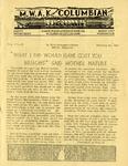 M.W.A.K. Columbian, Vol. 3, No. 8 by Mason-Walsh-Atkinson-Kier Co.