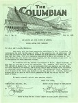 Columbian, Vol. 5, No. 14 by Consolidated Builders