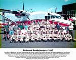 Redmond crew portrait, 1997 by unknown