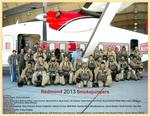 Redmond crew portrait, 2013 by unknown