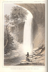 Minnehaha or Brown's Falls near Fort Snelling by John Mix Stanley; Sarony, Major & Knapp, Lithographers; and Thomas H. Ford, Printer