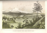 Mount Baker & Cascade range, from Whitby's (Whidbey) Island by John Mix Stanley; Sarony, Major & Knapp, Lithographers; and Thomas H. Ford, Printer