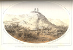 "Hot Spring mound, in the ""Deer Lodge"" prairie, of the Rocky Mountains by Gustavus Sohon; Sarony, Major & Knapp, Lithographers; and Thomas H. Ford, Printer"