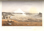 Puget Sound and Mount Rainier from Whitby's (Whidbey) Island by John Mix Stanley; Sarony, Major & Knapp, Lithographers; and Thomas H. Ford, Printer