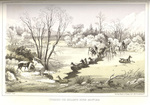 Crossing the HellGate River January 6, 1854