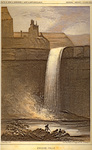 Peluse (Palouse) Falls by John Mix Stanley; Sarony, Major & Knapp, Lithographers; and Thomas H. Ford, Printer
