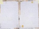Letter from Christine Shinn to Millie Shinn by Christine Shinn
