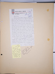 Millie Shinn letter to Shirl Shinn in 1961 by Millie Shinn