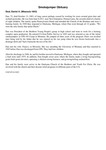 Smokejumper Obituary: Deal, Daniel A. (Missoula 1943)