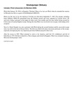 Smokejumper Obituary: Indradat, Phisit ((Associate Life Member) 0000)