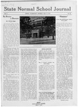 State Normal School Journal, May 31, 1917