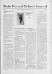 State Normal School Journal, May 02, 1918