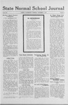 State Normal School Journal, December 05, 1918