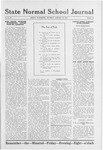 State Normal School Journal, January 23, 1919