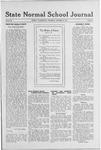State Normal School Journal, October 10, 1918