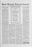 State Normal School Journal, October 31, 1918