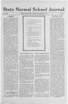 State Normal School Journal, December 19, 1918