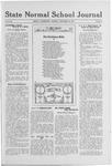 State Normal School Journal, December 26, 1918