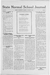 State Normal School Journal, January 09, 1919