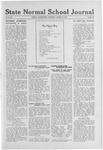 State Normal School Journal, March 06, 1919