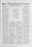State Normal School Journal, May 8, 1919