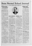 State Normal School Journal, November 6, 1919