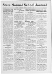 State Normal School Journal, January 29, 1920
