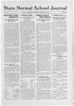 State Normal School Journal, February 26, 1920