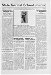 State Normal School Journal, March 18, 1920